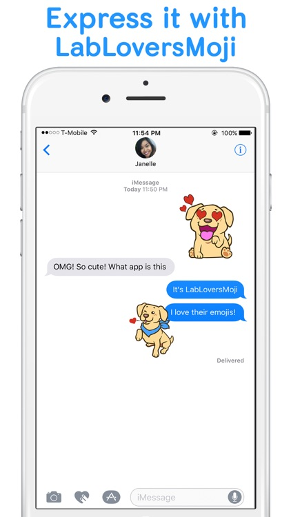 LabLoversMoji - Labrador Retriever Emoji Stickers screenshot-0