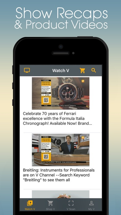 MyVApp: Video Shopping App screenshot one