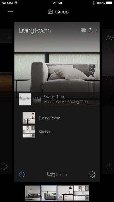 Onkyo Controller screenshot one