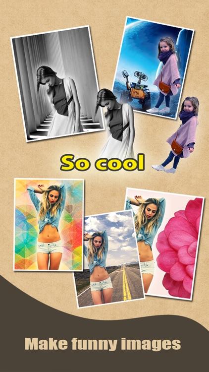 Cut & Show Me In - Photo Blender Background Eraser