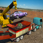 怪兽车破碎机起重机:垃圾车模拟器 Car Crusher Truck Simulator 3D