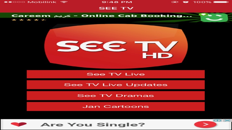 SEE TV Live Streaming in HD screenshot-3