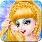 Ледяная королева Плетеные прически icon