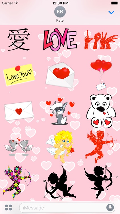 I Love You • 100 stickers for iMessage screenshot-3
