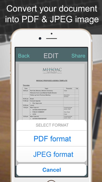 SCANNER - PDF Document Scan