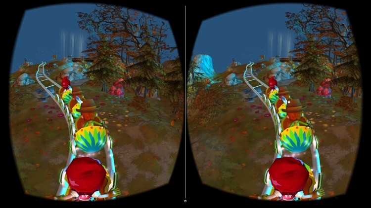 VR Christmas Roller Coaster screenshot-3