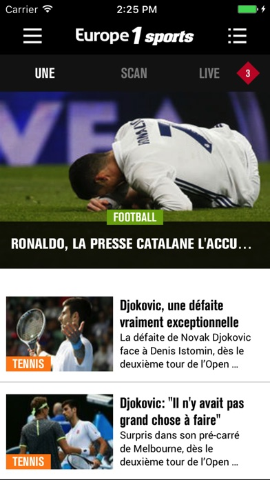 Europe1 Sports Скриншоты4