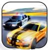 驚くべき警察の車は3Dを実行する:車の追跡ゲーム