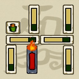 Candle Puzzle Game - move blocks to light candle