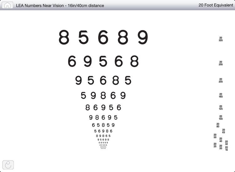 Near/Distance Vision Screening & Testing screenshot-3
