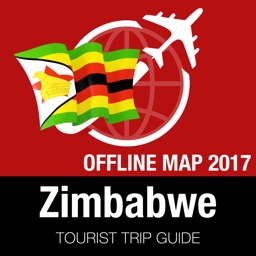 Zimbabwe Tourist Guide + Offline Map
