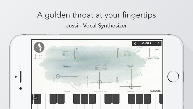 Jussi - Vocal Synthesizer