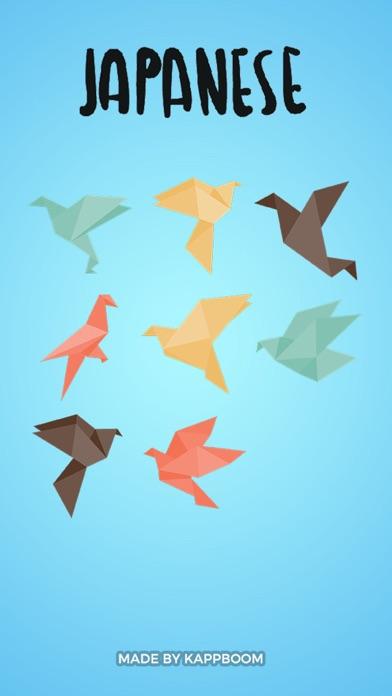Origami Stickers screenshot one