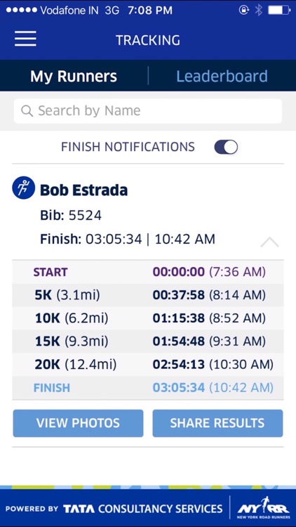 2017 United Airlines NYC Half Mobile App screenshot-3