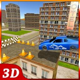 Roof top car parking 3D – Extreme stunts simulator