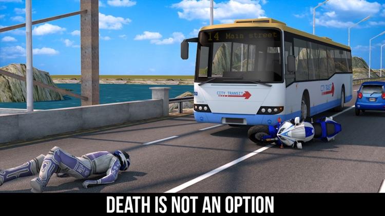 VR Crazy Bike Traffic Race - Top Racing Game Free screenshot-3