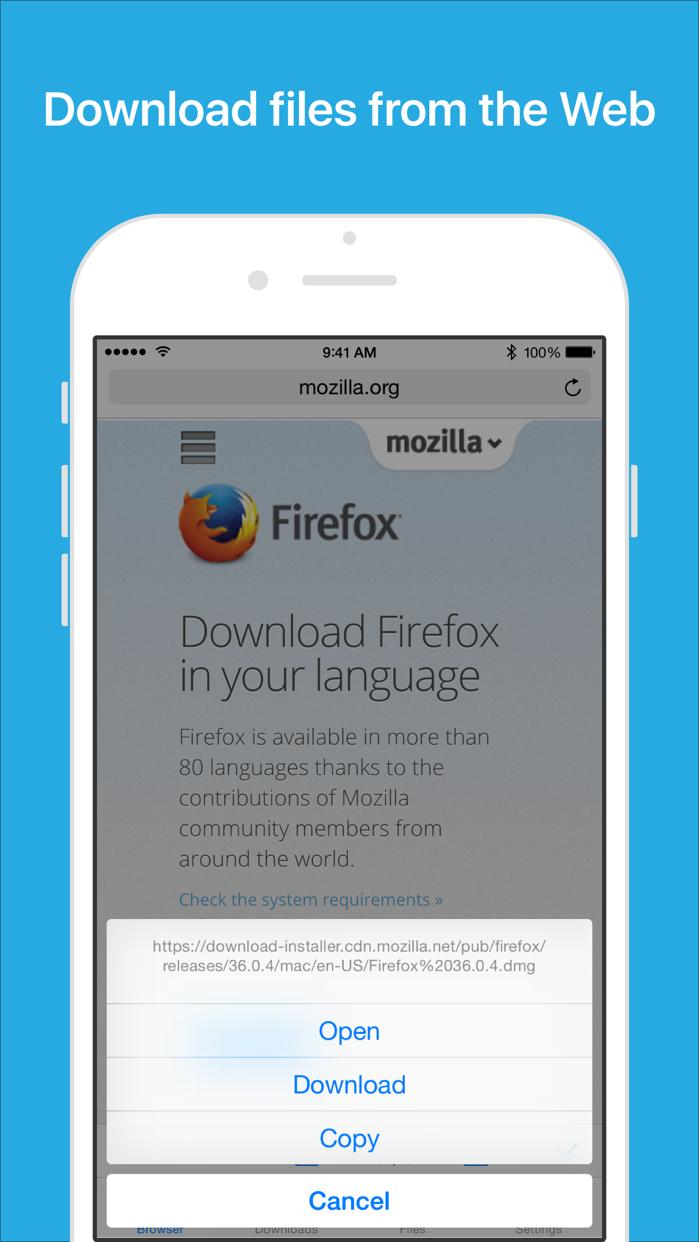 Files - File Manager & Browser Screenshot