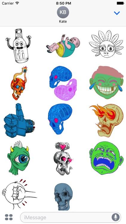 SR Stickers Taster Pack