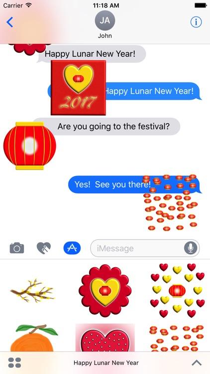 Happy Lunar New Year screenshot-3