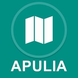 Apulia, Italy : Offline GPS Navigation