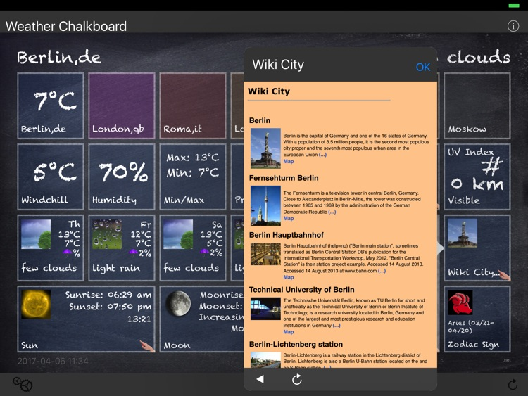 Weather Chalkboard screenshot-3