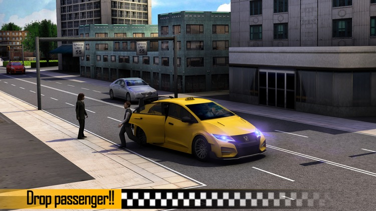 Taxi Driver 3D screenshot-2