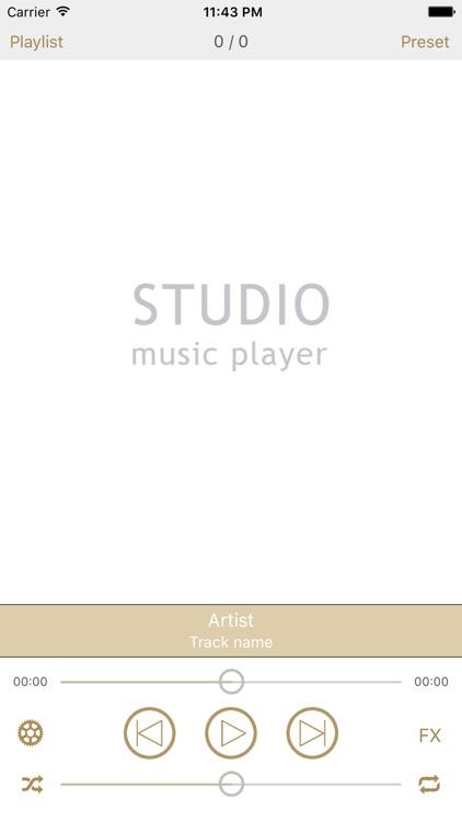 Studio Music Player DX Pro | 48 band eq + lyrics