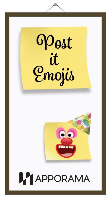 Post it Emojis