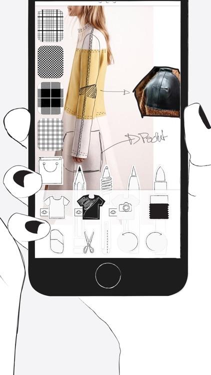Prêt à Template - Fashion Drawing screenshot-3