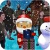 圣诞快乐圣诞老人3D比赛-圣诞快乐