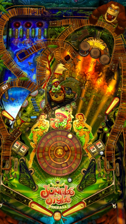 Jungle Style Pinball screenshot-1