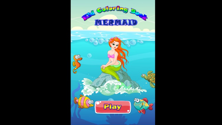 Mermaid Coloring Book screenshot-3