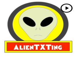 Enjoy a fun of Alien texting chat with this cool animated stickers pack with motion and secret code messages