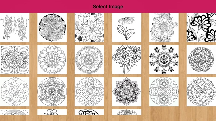 Flower Coloring Pages - Mandala Flower