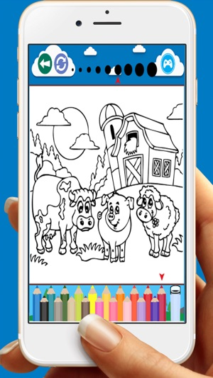 Boyama Kitabi Oyunlari Icin Hayvanlar Ciftligi App Store Da