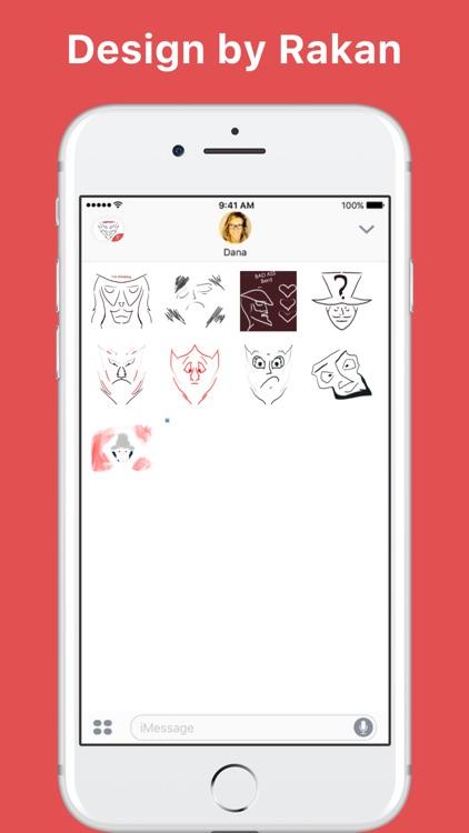 New Cool Emoji stickers by Rakan