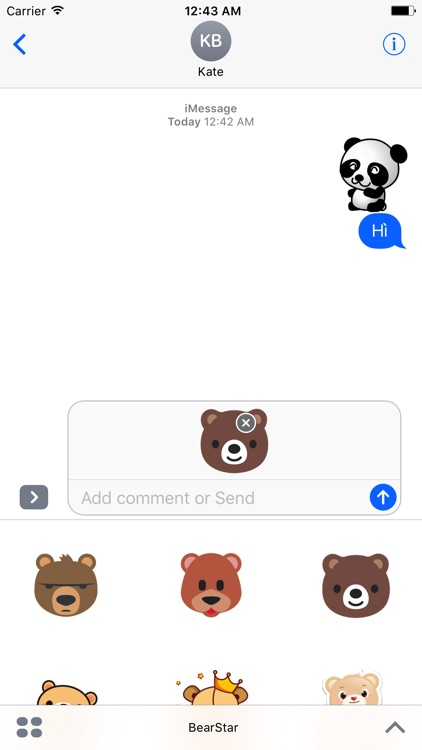 BearStar - Emoji And Sticker