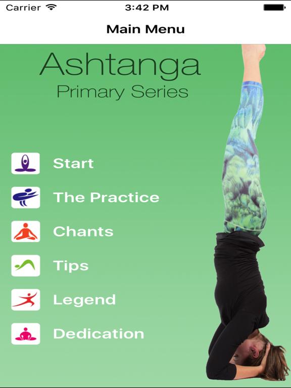 Ashtanga Yoga - Primary Series Cheat Sheetのおすすめ画像2