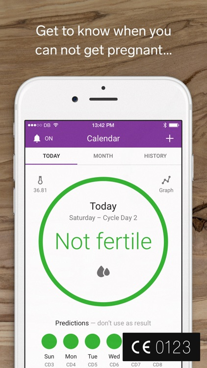 Natural Cycles, Birth Control & Ovulation Calc app image