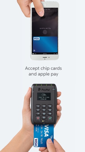 Paypal here point of sale on the app store iphone screenshots reheart Image collections