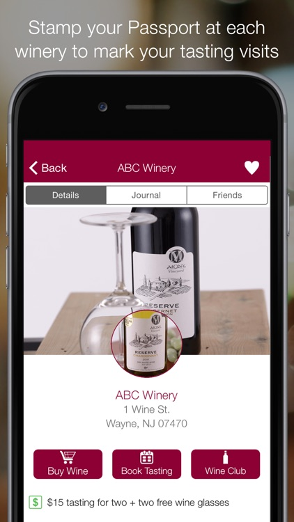 Winery Passport - Wine Guide