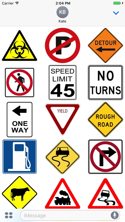 Street Sign Stickers