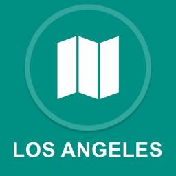 Los Angeles, USA : Offline GPS Navigation