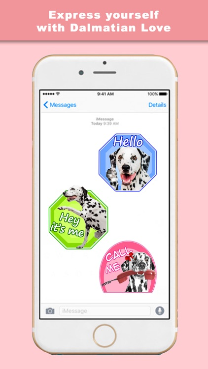 Dalmation Love - Stickers & Keyboard For Dogs screenshot-3