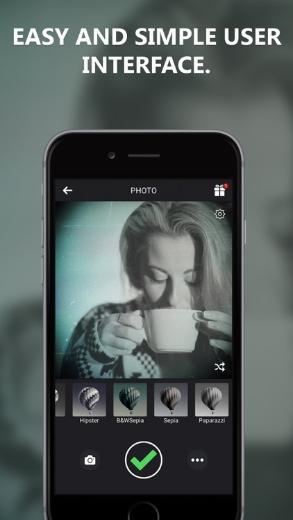 Black and White Camera for IG screenshot-3