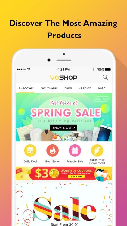 YoShop: Top Fashion, New Electronics, DAILY Sales