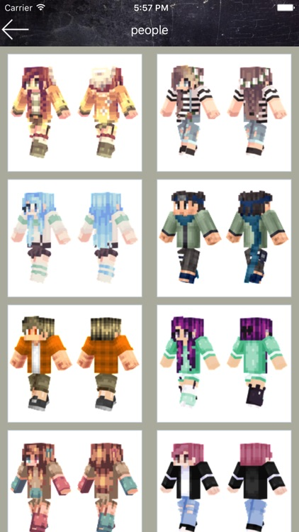 Skin Creator&Maker for Minecraft PE screenshot-1