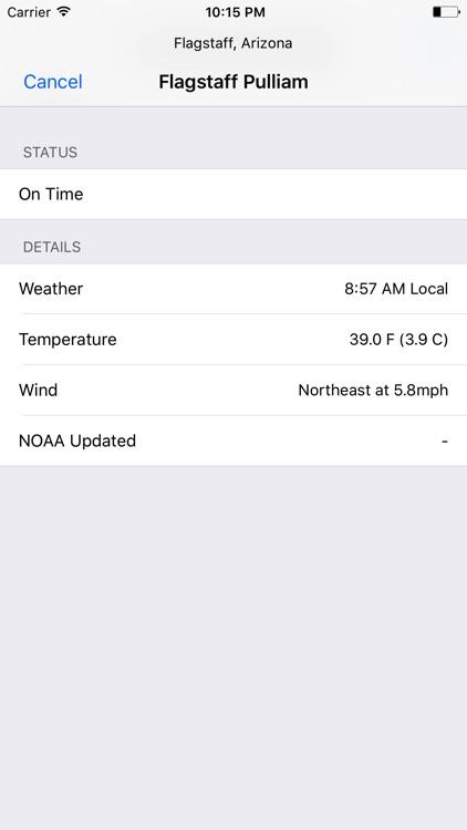 MyFlight Forecast screenshot-3