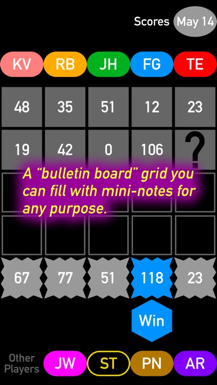 Mind Magnets Info Organizer—Visual Grid Checklists screenshot-4