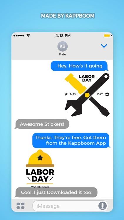 Happy Labor Day II by Kappboom screenshot-3